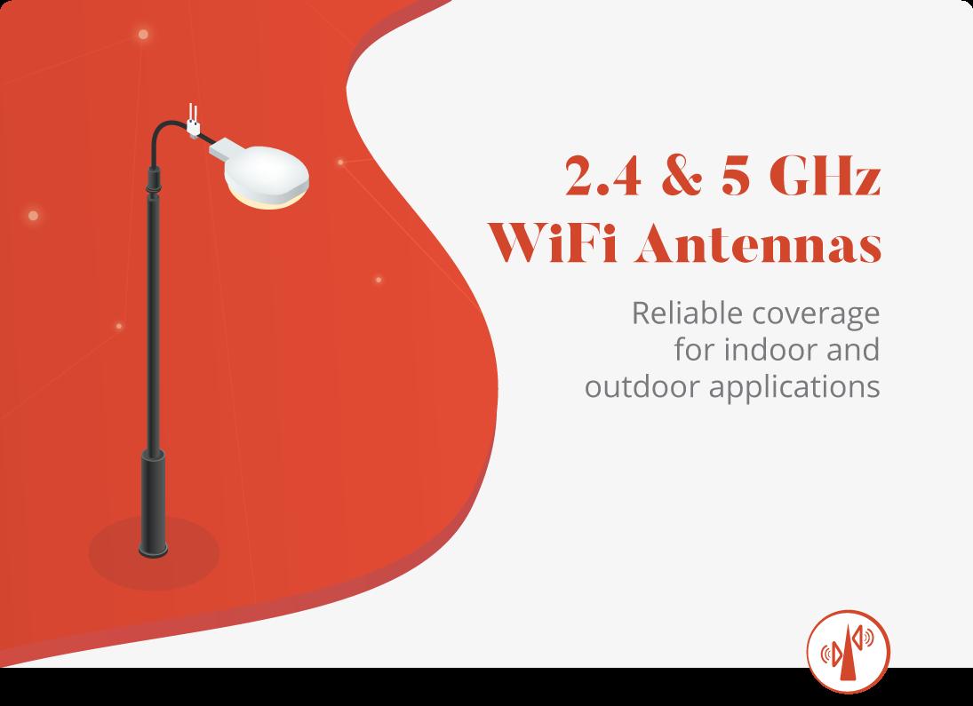Antennes réseau sans fil robustes
