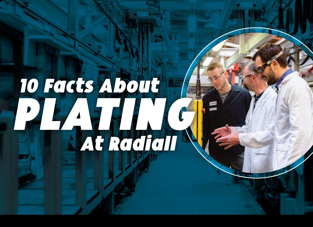 10 faits sur le placage chez Radiall
