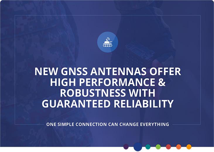Nouvelles antennes GNSS pour les applications radio du soldat