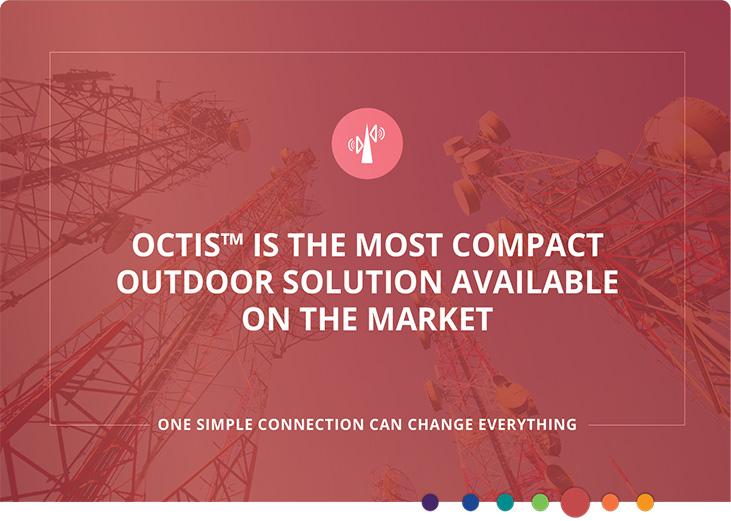 Système de connexion d'E / S extérieur compact OCTIS ™