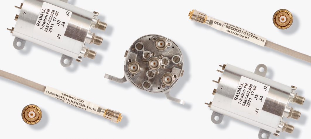 Learn about coaxial connectors, cable assemblies, microwave components and switches here.
