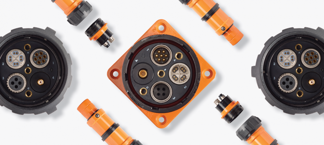 Radiall VanSystem circular electrical connectors for industrial applications