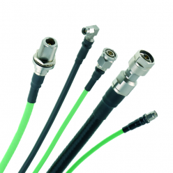 Low Loss High Frequency Flexible Cable Assemblies (SHF Range)
