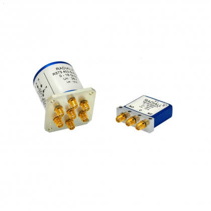 Low PIM switches are perfectly suited for RF test systems and test benches.