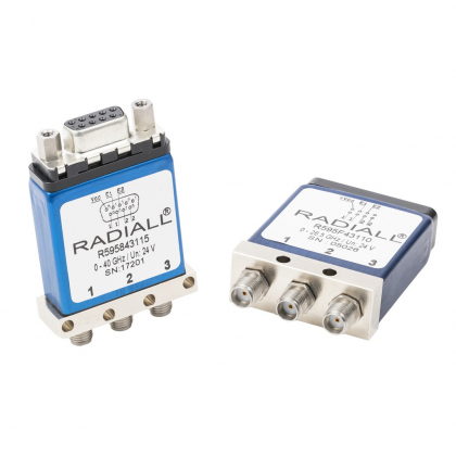 R595 Unterminated SPDT (Single Pole Double Throws) switches