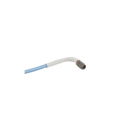 Space qualified low loss flexible coaxial cable assemblies