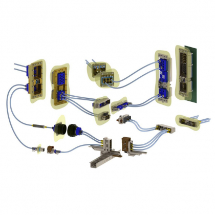 High speed contact solutions for civil aerospace