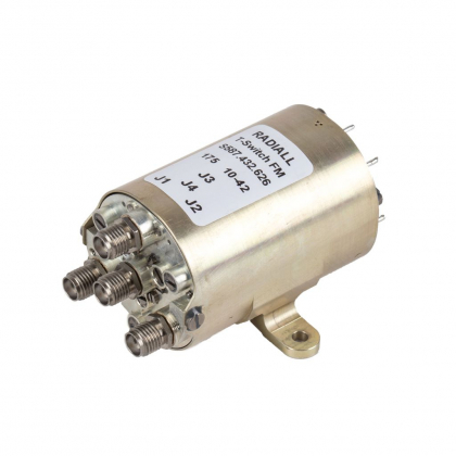 Space coaxial switches operate up to Ka band