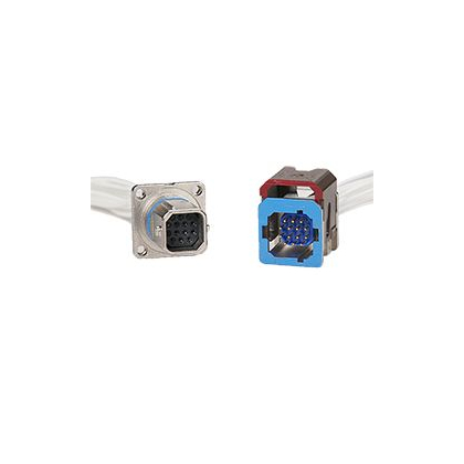 Quickfusio quick mating connectors feature a unique slide lock system