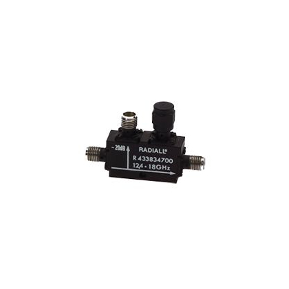 Coaxial couplers and power dividers/combiners for embedded RF systems