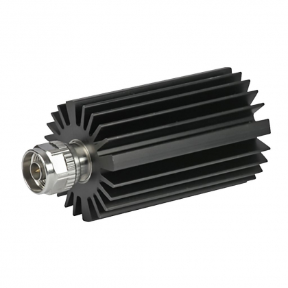 Coaxial terminations include low, medium and high power terminations