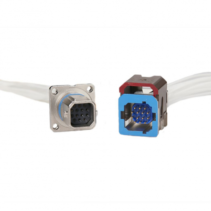 Miniature connectors were introduced as a new format for multipin connectors