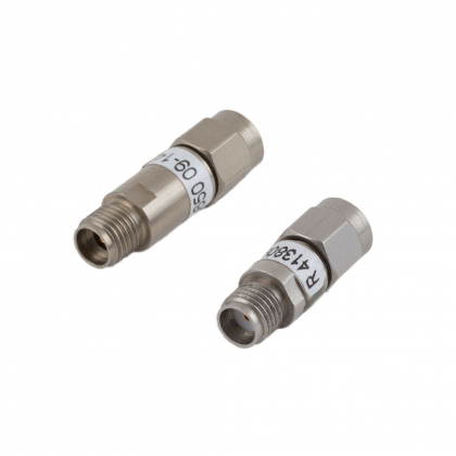 Low power space coaxial attenuators qualified by ESA (European Space Agency)
