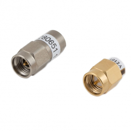 Low power space coaxial terminations qualified by ESA (European Space Agency)