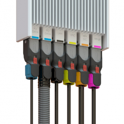 OCTIS for outdoor small cell and next generation RRU/RRH projects