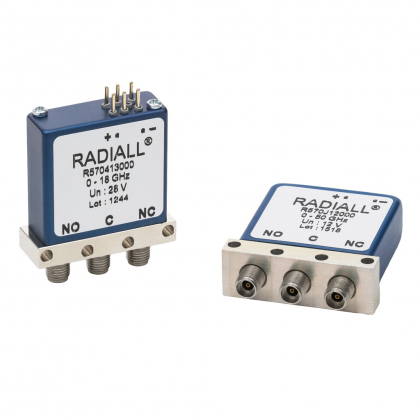 RAMSES R570 SPDT (Single Pole Double Throws) switches