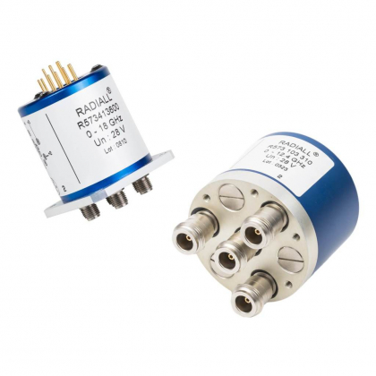 RAMSES Unterminated R573 multithrow coaxial switches