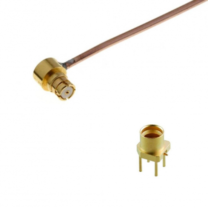 SMP subminiature snap-on connectors