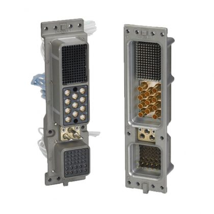 A range of rack and panel connectors that include high speed, cost effective and RoHS solutions