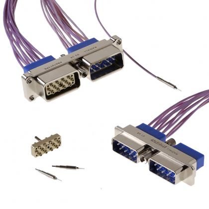 Mil Aero Fiber Optic Connectors