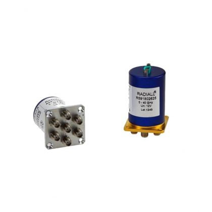 Coaxial subminiature switches have excellent RF performance and repeatability.