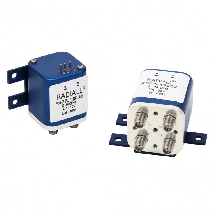 RAMSES R577 DPDT (Double Poles Double Throws) relays