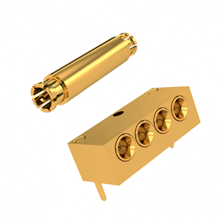 SMPW subminiature, G3PO-compatible coaxial connector for defense and telecom markets
