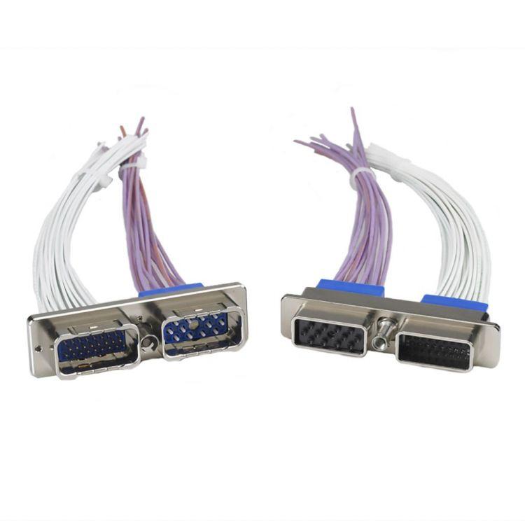 Rectangular modular connectors for the civil aerospace market