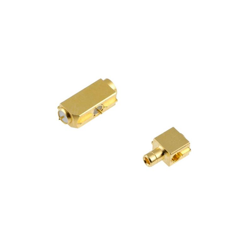 RF switching connectors are PCB mount adapters with built-in mechanical switch function.