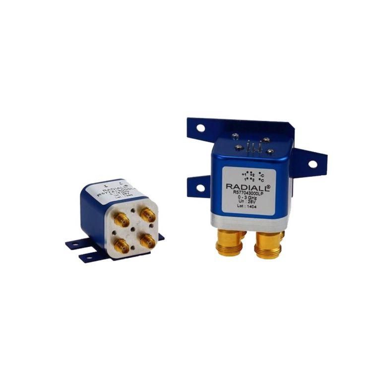 DPDT (Double Poles Double Throws) Low PIM switches