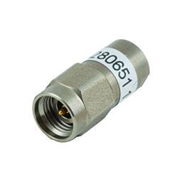 Low power space coaxial SMA 2.9 terminations
