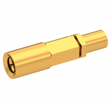 SSMB / STRAIGHT PLUG FEMALE CRIMP TYPE FOR 2/50 S CABLE GOLD
