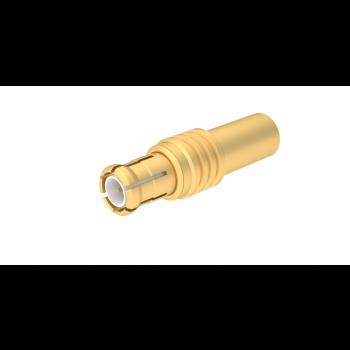 MCX / STRAIGHT PLUG CRIMP TYPE CABLE 2.6/50 D