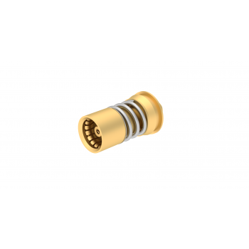 BMA / STRAIGHT CLIP-ON FLOATING JACK SOLDER TYPE - CABLE .085