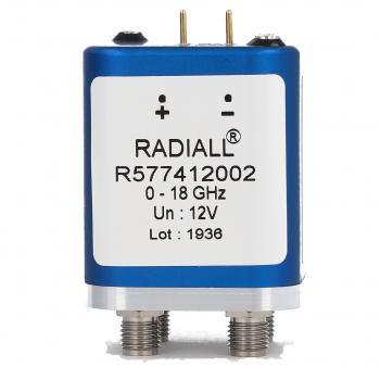 DPDT Ramses 2.4mm 50GHz Latching 28Vdc Pins Terminals