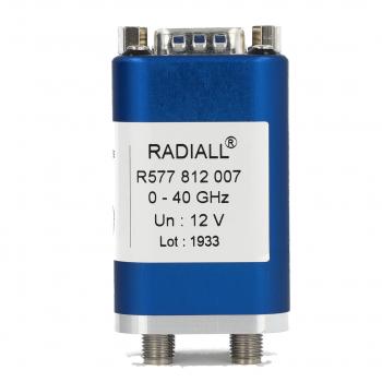 DPDT Ramses 2.4mm 50GHz Latching 28Vdc Positive common D-sub connector