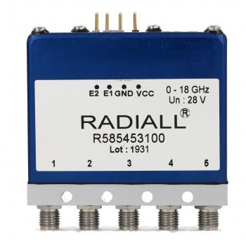 DP3T Ramses 2.4mm 50GHz Latching Self-cut-off Indicators 28Vdc TTL Diodes Pins terminals