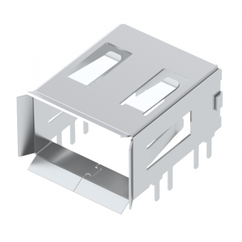OCTIS RIGHT ANGLE SFP CAGE PIN IN PASTE TAPE & REEL