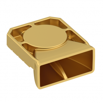 ST60 SMT HORN ANTENNA - V POLARIZATION -GOLD PLATED- COMMERCIAL