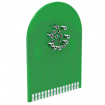 Printed circuit board Interface R573 & R574 RAMSES series for SP3 to 6 positions