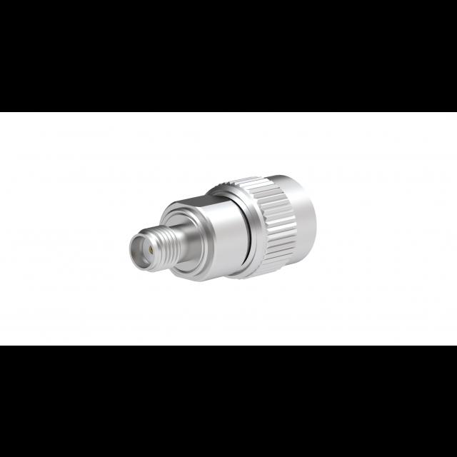 TNC//M Adapter RF Industries SMA//F