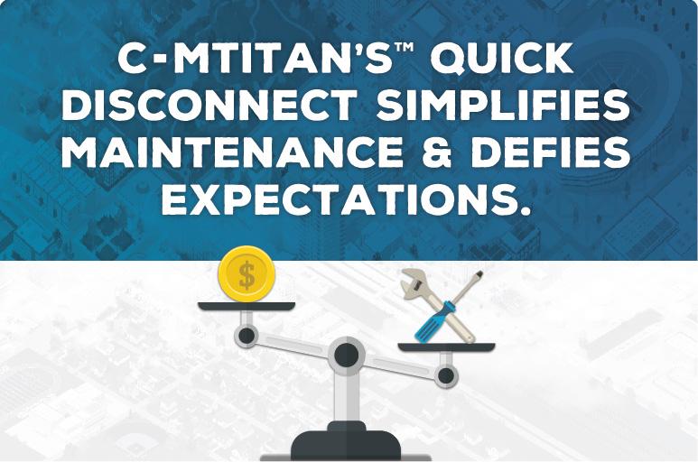 C-MTitan's™ Quick Disconnect