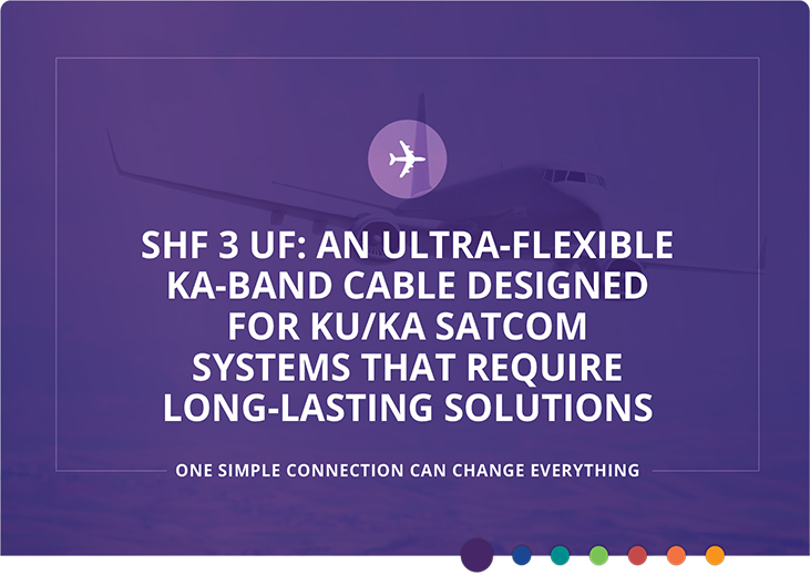 SHF 3 UF: Ultra-flexible ka-band cable