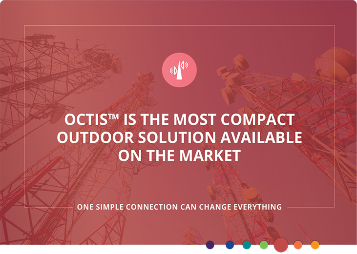OCTIS™ Compact Outdoor I/O Connection System